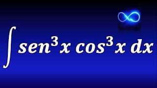 149. Integral de seno al cubo por coseno al cubo. TRIGONOMETRICA. EJERCICIO RESUELTO