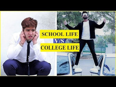 SCHOOL LIFE v/s COLLEGE LIFE | Part 2 || JaiPuru