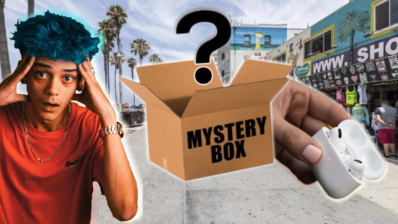Would YOU rather have MONEY or this MYSTERY BOX?