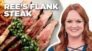 The Pioneer Woman Makes Flank Steak and Waffle Hash Browns | Food Network