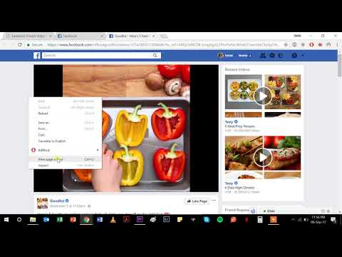 How To Download A Private Facebook Video (EASY!!)