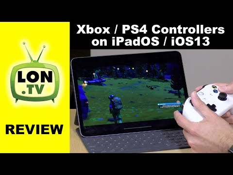 Xbox and PS4 Controllers Come to iPad, iPhone, and Apple TV with iPadOS and iOS 13!