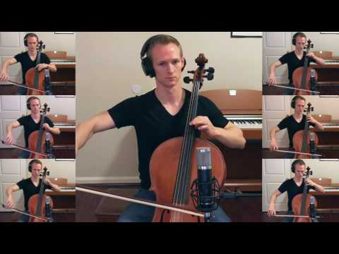 Hallelujah on seven cellos