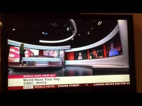 On BBC World Have Your Say - Feb 6, 2015