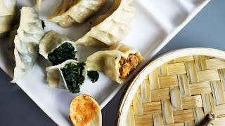 What I Ate In A Day VEGAN #34 // Dumplings + vegan grocery haul #2