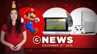 Nintendo Switch Tech Specs Revealed & Super Mario Run Out Now! - GS Daily News
