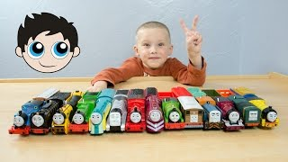 RACE 2 Thomas and Friends TrackMaster Train Collection Fastest Engine Competition