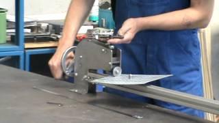 Устройство для вырезки прокладок P/H 170
