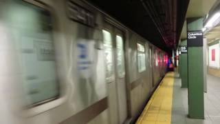 NYC Subway: 96 St bound R142 2 Local Train leaving 59 St-Columbus Cir