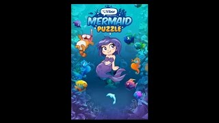 Mermaid puzzle game for phones and tablets