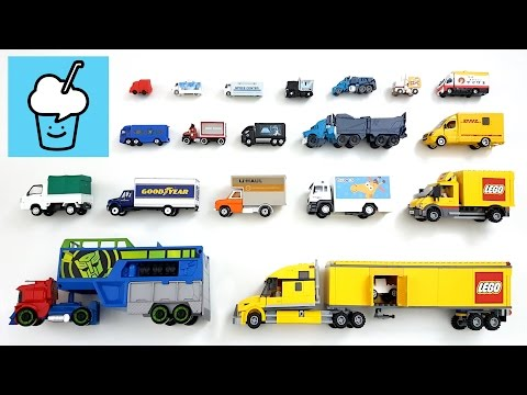 Truck for kids with tomica トミカ VooV ブーブ 変身 Lego Transformer Star Wars Optimus Prime