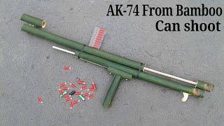 Bambu Kullanarak bir AK-74 SİLAHI nasıl