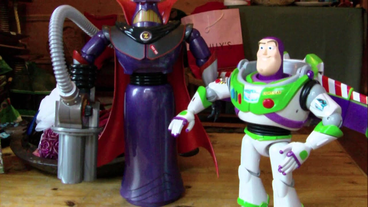 """Disney Store Toy Story Talking 14"""" Zurg Review - YouTube"""