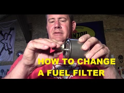 FORD F150 FUEL FILTER - CHANGE - YouTube