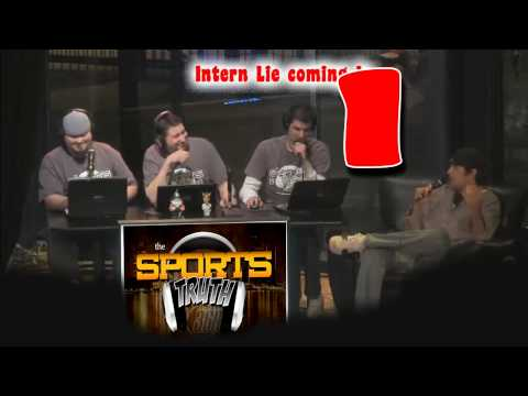 Sports Truth Clip Intern on Camera!