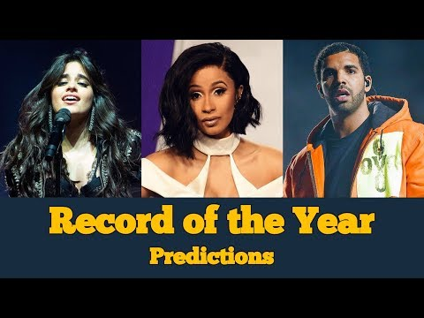 Record of the Year Nomination PREDICTIONS | 61st Annual Grammy Awards