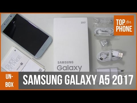 SAMSUNG GALAXY A5 2017 - déballage par TFP