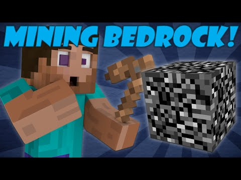 Thumbnail: If Bedrock Could be Mined - Minecraft