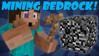 If Bedrock Could be Mined - Minecraft