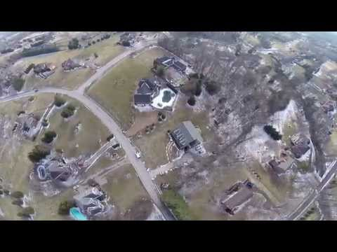 Cedarmont Valley Estates, Franklin, TN, GoPro Drone footage , DJI Phantom 2