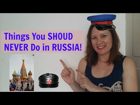 Things You Should NEVER Do in Russia!!  (Digital Nomad in Moscow)