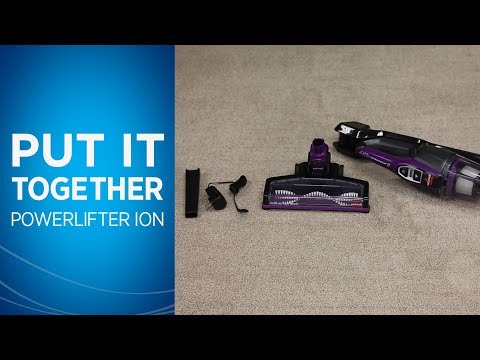How to Set Up Your BISSELL PowerLifter® Ion Pet 2-in-1 Cordless Vacuum