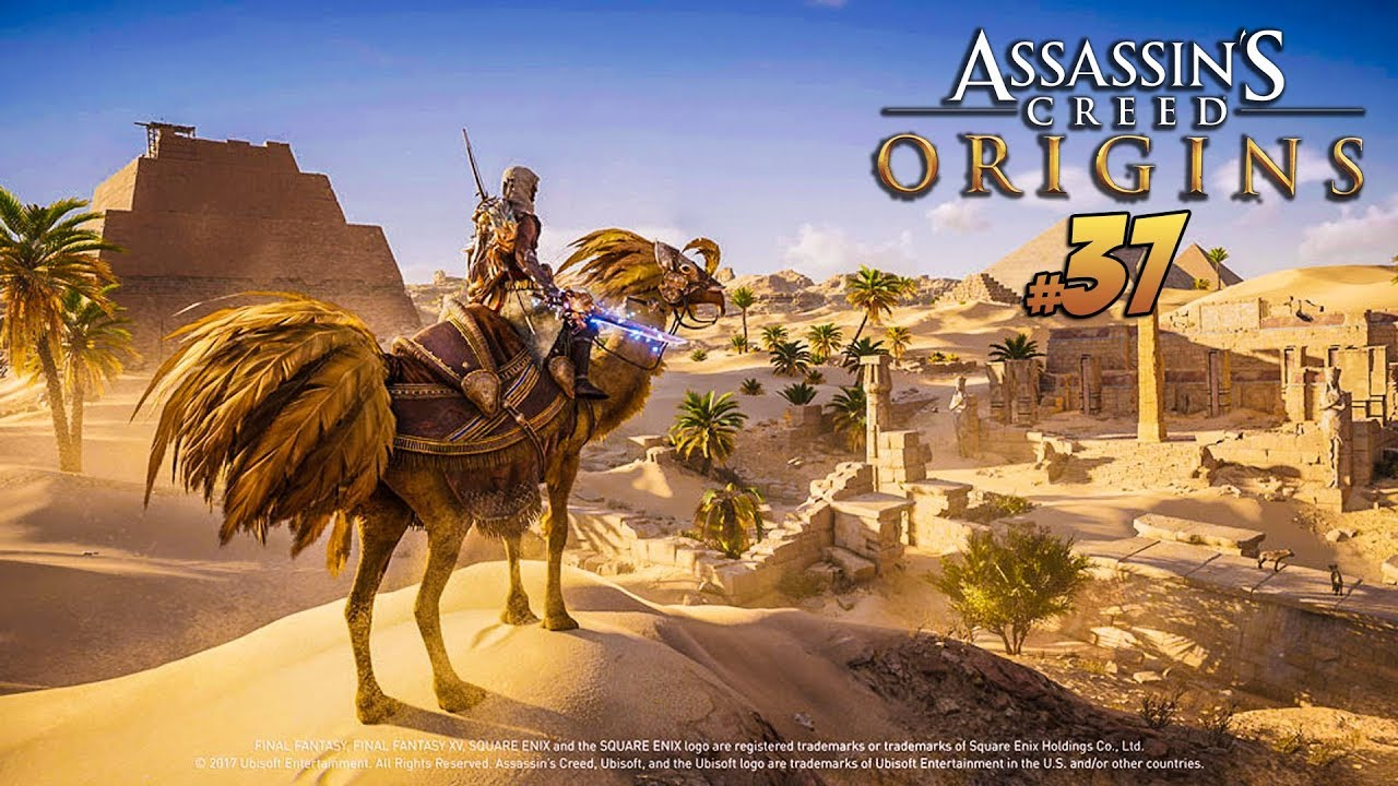 Assassin's Creed Origins PL – FINAL FANTASY & TRYB HORDY #37 | PC 1080p60fps | Vertez