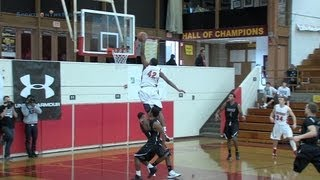 Justise Winslow '14 Dunks Like His Dad, 12/29/12