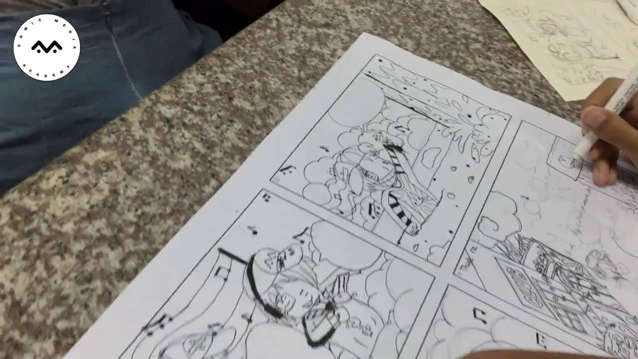 Lớp học vẽ Truyện tranh / Manga / Comic dành cho trẻ 9  – 14 tuổi