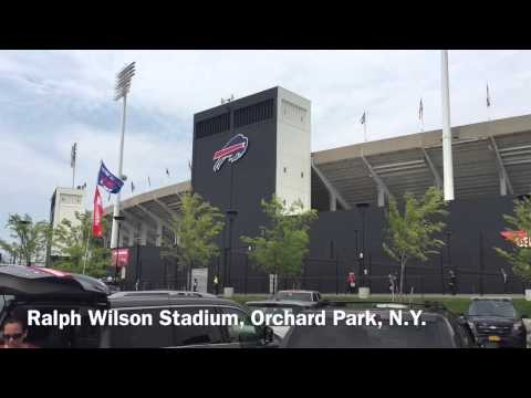 Ralph Wilson Stadium tour