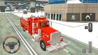 Fire Truck Rescue Simulator #5 - Firefighter Rescue Game - Android Gameplay FHD