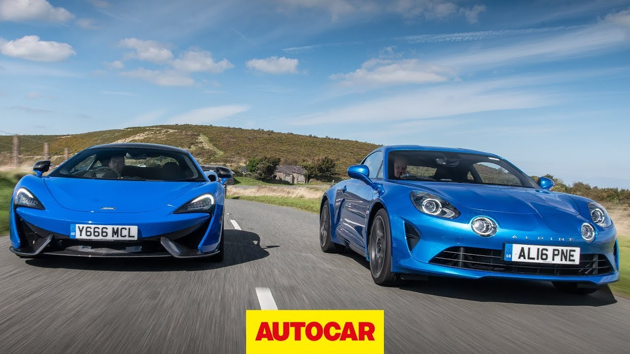 McLaren 570S vs Alpine A110 - Which is the ultimate driver's car? | Autocar