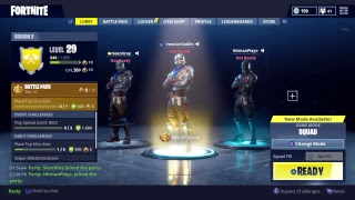 Fortnite with the squad 11
