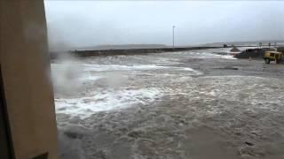 Tempête Camaret Port