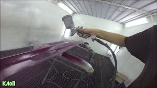 VLOG Жига/ Подготовка к фесту/ Покраска автомобиля своими руками и качественный шиномонтаж