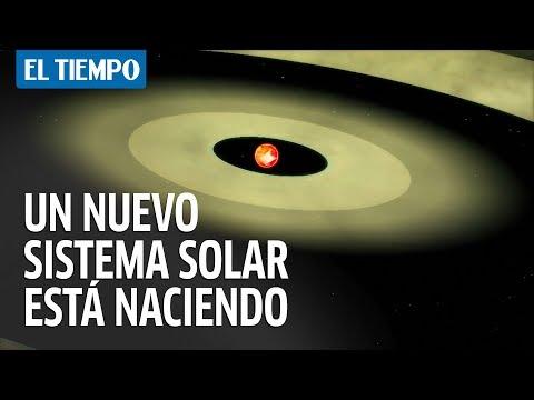 Científicos detectan la formación de un nuevo sistema solar   EL TIEMPO