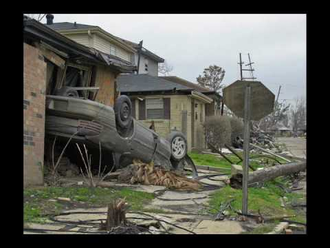 Hurricane Katrina Lower Ninth Ward Destruction New Orleans