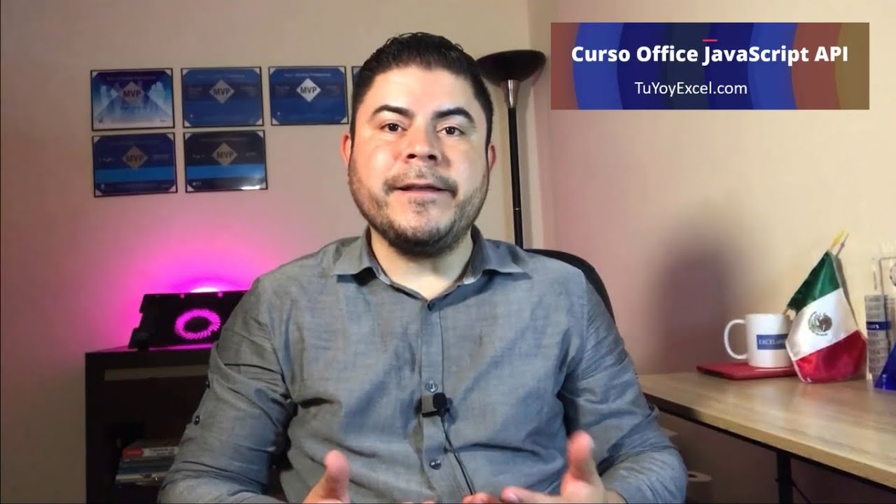 Trailer Curso Sobre la API de JavaScript para Office Realizado por Sergio A. Campos, ¡¡Mil Gracias!!