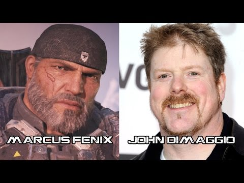 Characters And Voice Actors Gears Of War 4 Youtube