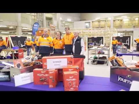 Chisholm vs. RMIT Plumbing Skills Competition 2016
