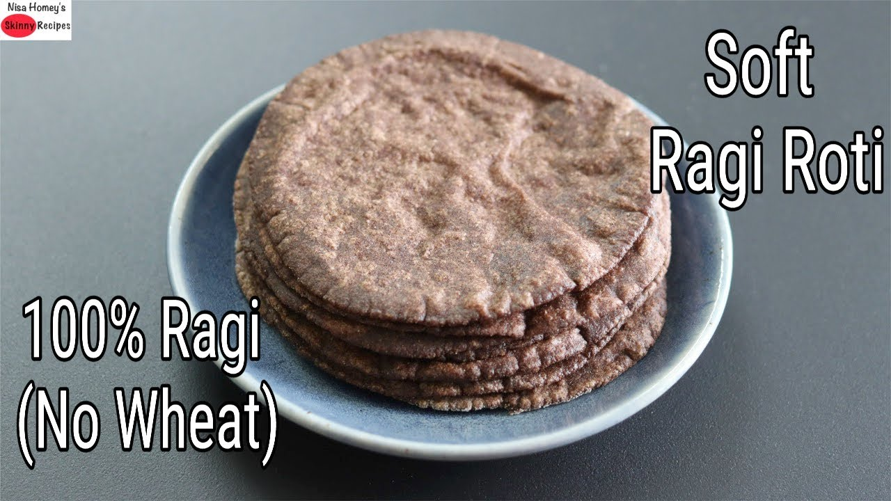 Download Ragi Roti Recipe - How To Make Soft Ragi Roti - Easy Finger Millet Chapathi    Skinny Recipes
