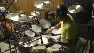 Santana feat. Nickelback - into the night - drum cover by Andrea Mattia