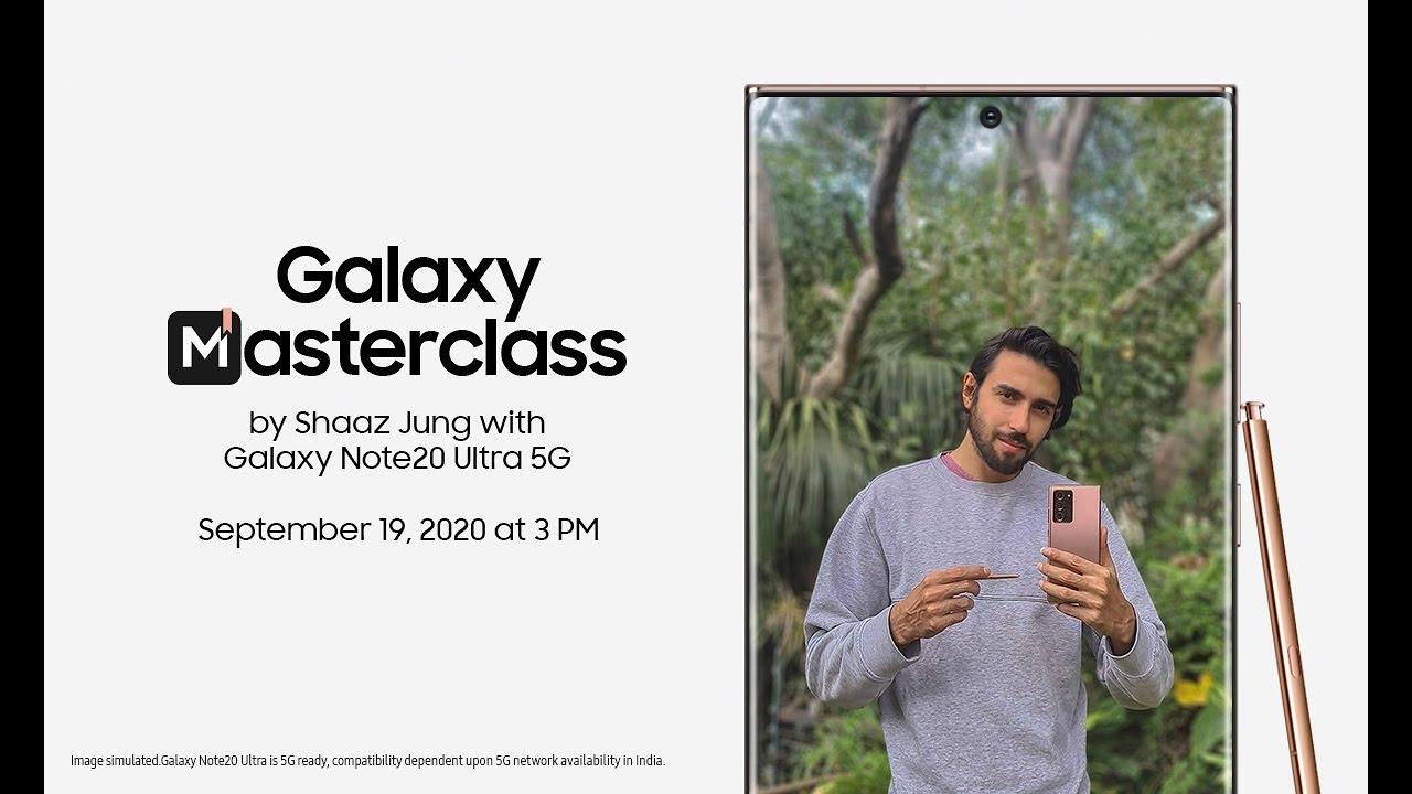 Galaxy Masterclass by Shaaz Jung