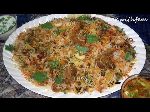Mutton Biryani Recipe | Hyderabadi Restaurant Style Mutton Dum Biryani-Pakki Akhni Ki Mutton Biryani