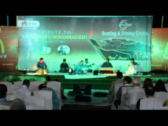 Qurban Sat Night Music 15 Oct 2011 In Beach View Club Karachi Travel Video