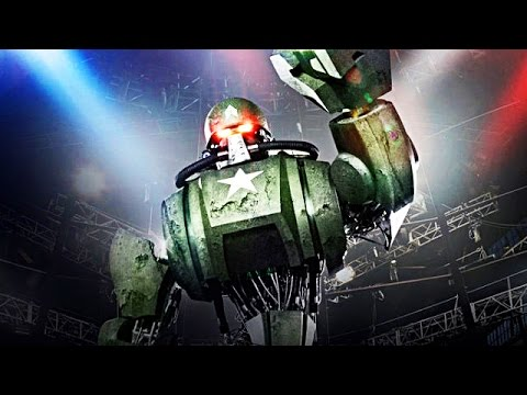 Real Steel WRB The Green Mean Machine - Sarge VS WRB I & WRB II NEW ROBOT (Живая Сталь)