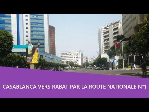 Balade voiture 🚘 Anfa Casa vers Ain Sebaa Casablanca Maroc