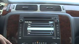 2013 Chevy Suburban LTZ Navigation and Radio System