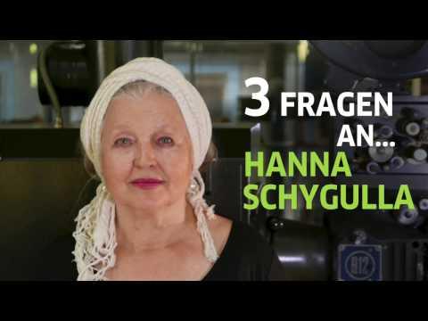3 Fragen an Hanna Schygulla