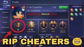 RIP CHEATERS 😂